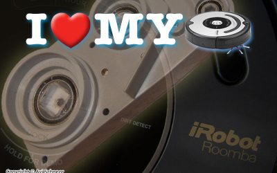 iRobot Roomba 5xx/6xx/7xx Gray CHM mod