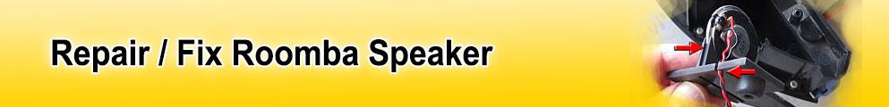 iRobot Roomba speaker