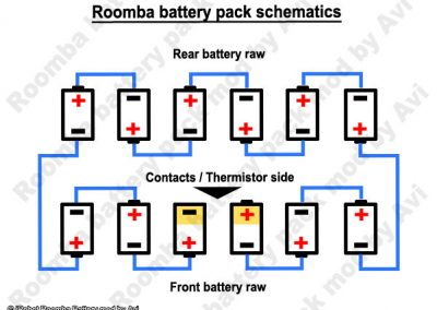 Battery pack schematic