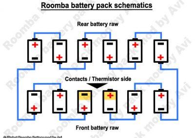iRobot Roomba Battery rebuild image 1