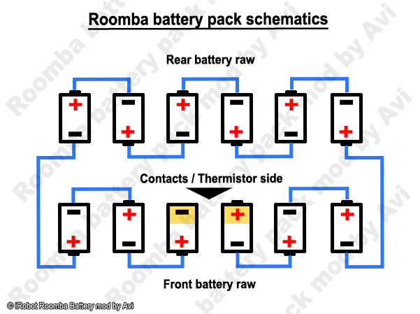 keh 2600 speaker wiring diagram irobot roomba battery pack rebuild - schneor design and more #10