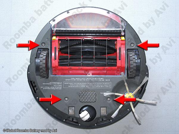iRobot Roomba Battery pack rebuild
