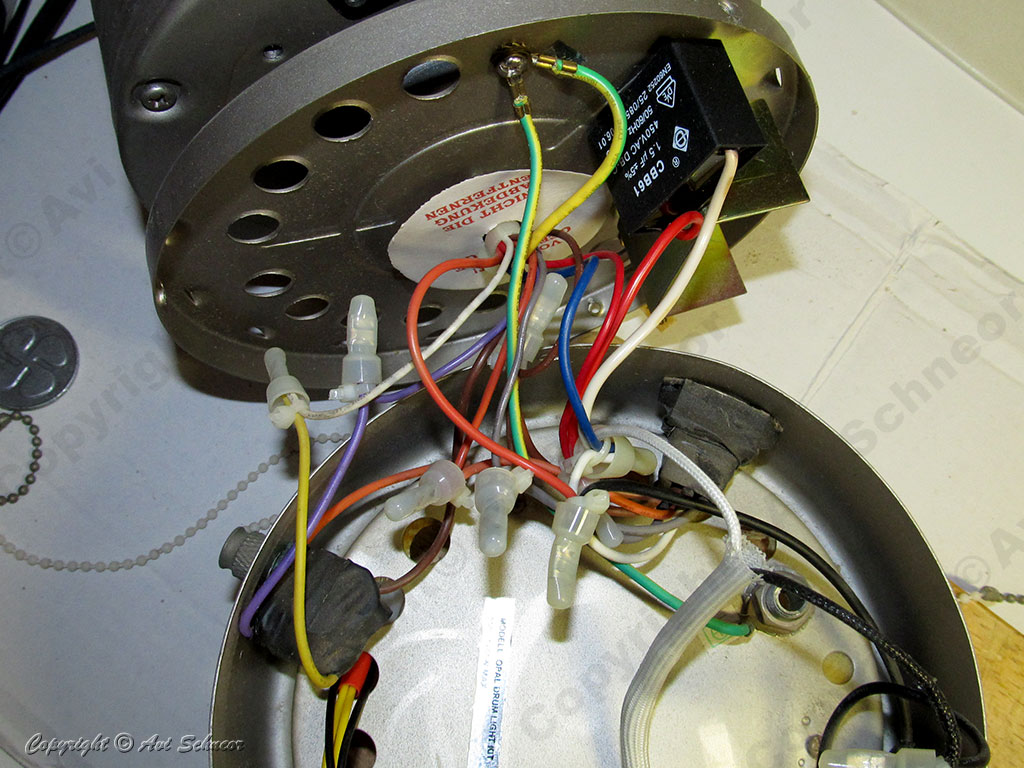 fan wires mess