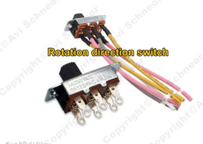 Fan's direction switch ZE-209-22
