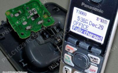 Panasonic PNLC-1029 charging cradle repair