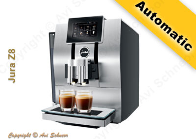 דוגמא למכונת קפה אוטומטית Automatic coffee machine
