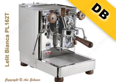 דוגמא למכונת דוד כפול DB coffee machine