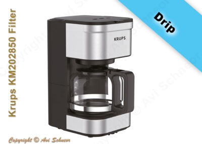 דוגמא למכשיר זילוף/טפטוף דריפ חשמלי Electric drip coffee maker