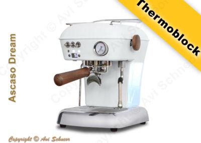 דוגמא למכונת קפה עם טרמובלוק Thermoblock coffee machine