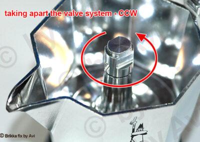 Brikka 2020 valve system removal