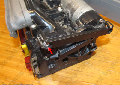 8xx right side arm disassembly
