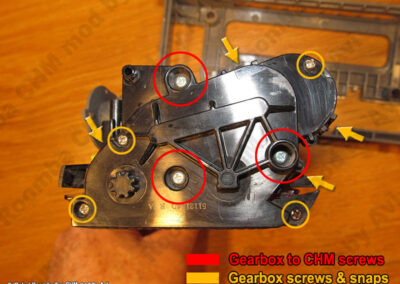 8xx gear screws explained