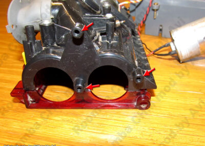 8xx gear assembly points