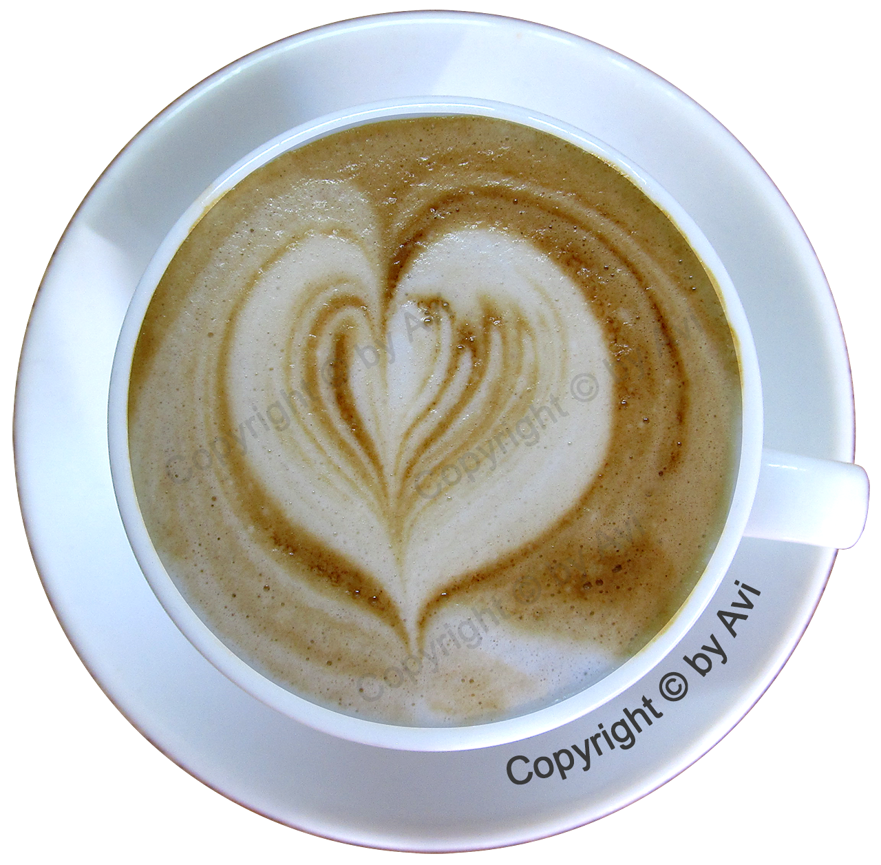 Cappuccino cup by Avi