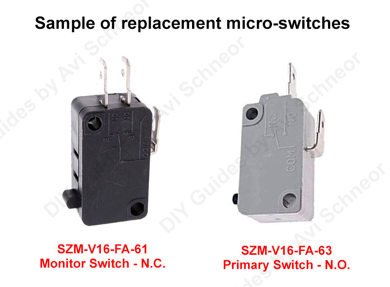 Replacement micro-switches